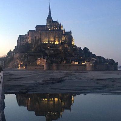 2019.2月 我在法國🇫🇷聖米歇爾山